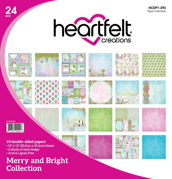 Heartfelt Creations: Merry and Bright Paper Collection (HCD1-7196)