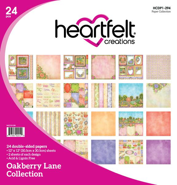 Heartfelt Creations: Oakberry Lane Paper Collection (HCDP1-294)