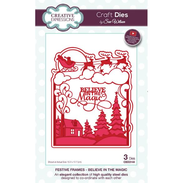 Sue Wilson Dies - Festive Collection Believe in the Magic  - CED3144