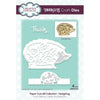 Creative Expressions Paper Cuts 3D Collection Hedgehog Craft Die - CEDPC1032
