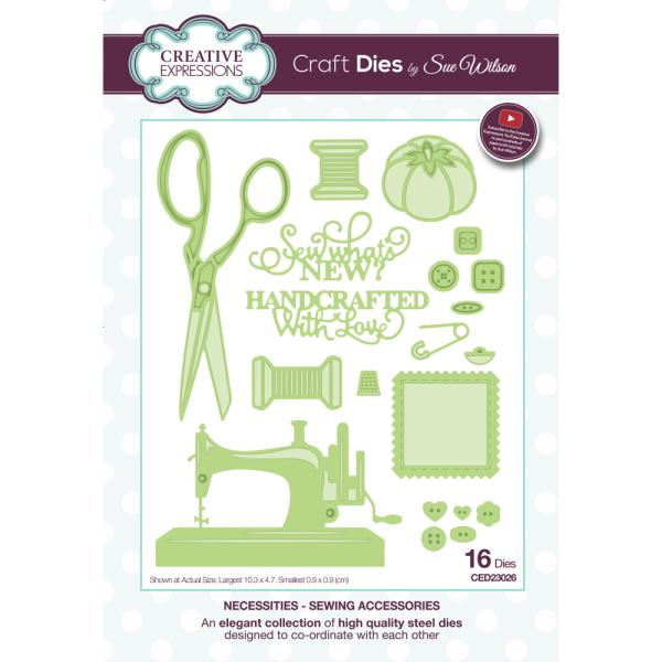 Sue Wilson Dies - Necessities Collection Sewing Accessories - CED23026