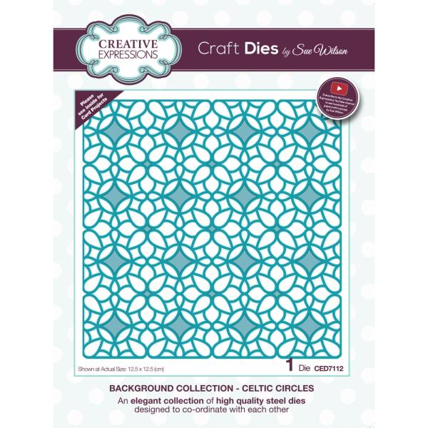 Sue Wilson Dies - Background Collection Celtic Circles - CED7112