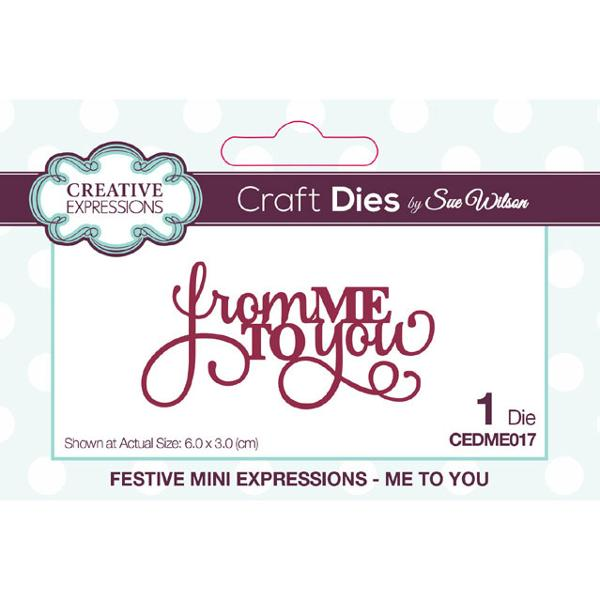 Sue Wilson Dies - Festive Collection Me To You - CEDME017