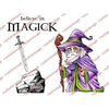 Visible Image Stamp - Myrddin Magick Set