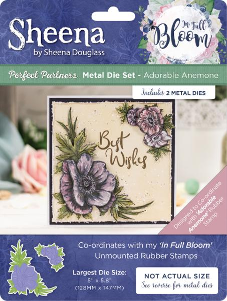 Sheena Douglass - In Full Bloom - Metal Die - Adorable Anemone