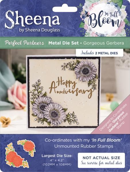 Sheena Douglass - In Full Bloom - Metal Die - Gorgeous Gerbera