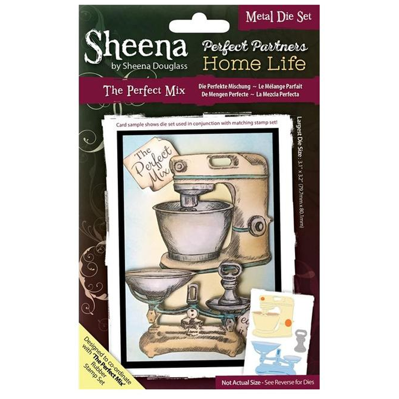 Sheena Douglass Perfect Partners Home Life - The Perfect Mix Thin Metal Die