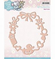 Yvonne Creations Die - Smiles, Hugs and Kisses, - Baby Frame