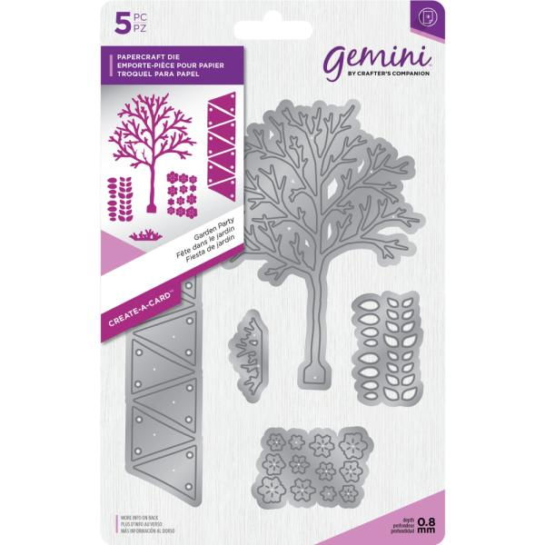 Crafters Companion - Gemini Die - Create-a-Card - Garden Party