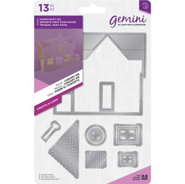 Crafters Companion - Gemini Die - Create-a-Card - House - Concept