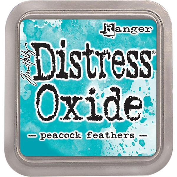Tim Holtz Distress Oxide Ink Pad Peacock Feathers