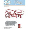 Elizabeth Craft Designs Dies: Believe (1049)