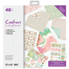 Crafters Companion - 12 x 12 Printed Paper Pad - Summer Breeze