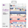 "Crafters Companion 12""x12"" Paper Pad - Full Blooms"