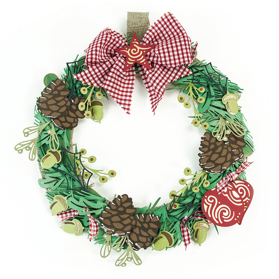 Tonic Dies: Build a Wreath  Teadrop Bauble  1396E
