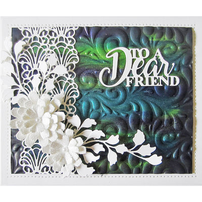 Sue Wilson Dies - Celebrations Collection - Dotty Streamers - CED1351