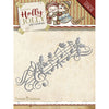 Yvonne Creations Die - Holly Jolly - Music Border