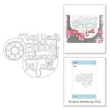 Spellbinders - Tammy Tutterow - Bobbin Wishes - SBS-160