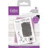Crafters Companion - Layered Texture  Stamp - Garden Trellis