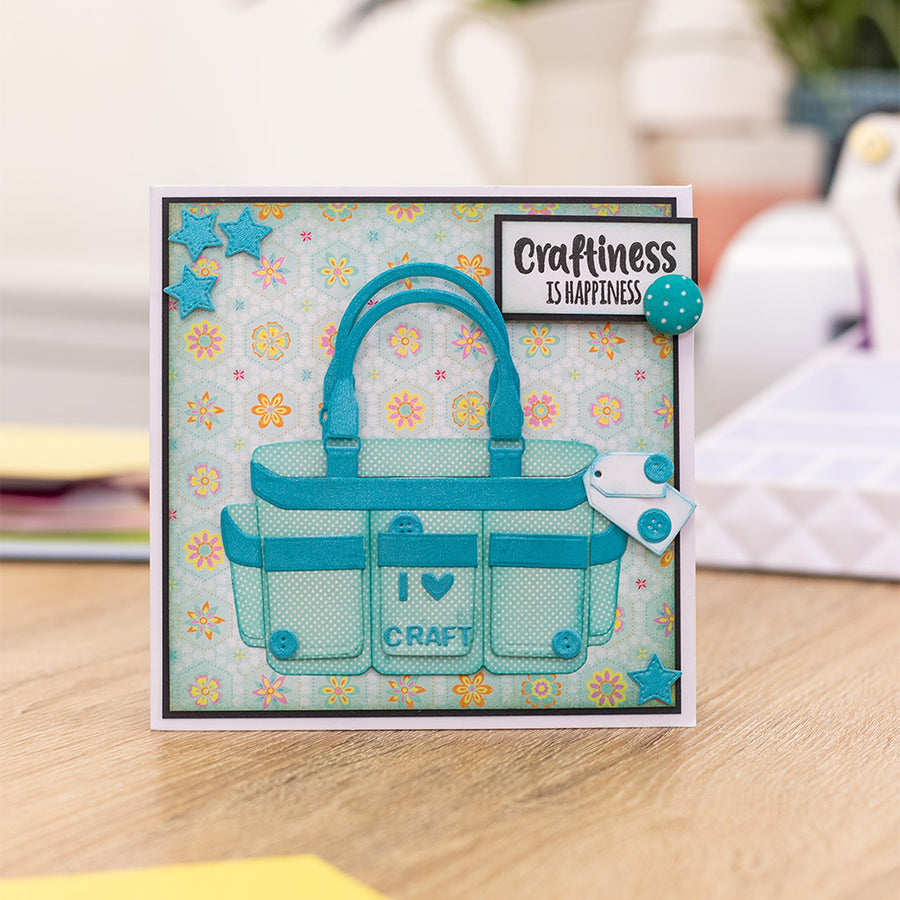 Sara Signature Collection by Crafters Companion - Crafty Fun - Metal Die - Craft Caddy