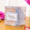 Sara Signature Collection - Rose Garden - A6 Photopolymer Stamp - Happiness Blooms