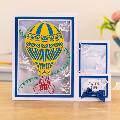 Gemini Die by Crafters Companion - Create A Card - Take Flight