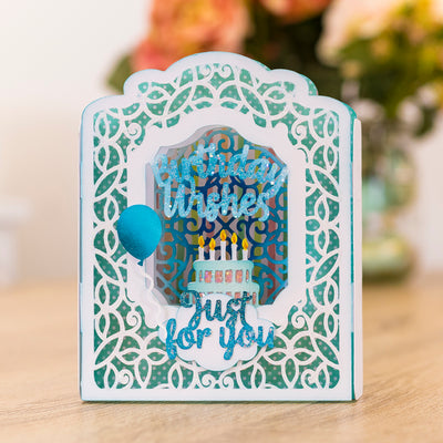 Gemini Die by Crafters Companion - Create A Card - Fancy Panel Aperture