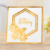 Gemini Foil Stamp 'N' Cut Die - Elements - Butterfly and Blooms Frame
