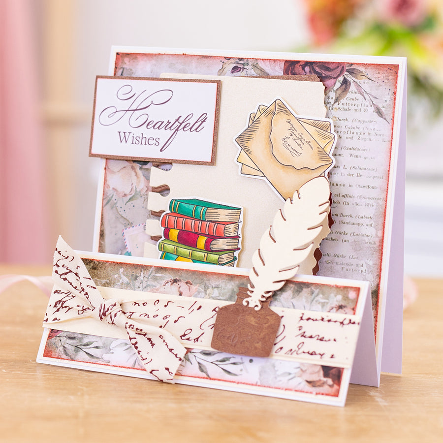 Sara Signature Collection - Vintage Diary - Metal Die - Page Edges