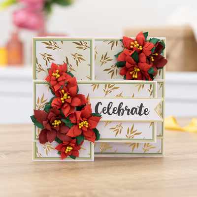 Gemini Die by Crafters Companion - Elements - Poinsettia