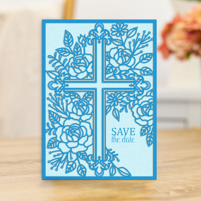 Gemini Die by Crafters Companion - Create A Card - Ornate Cross