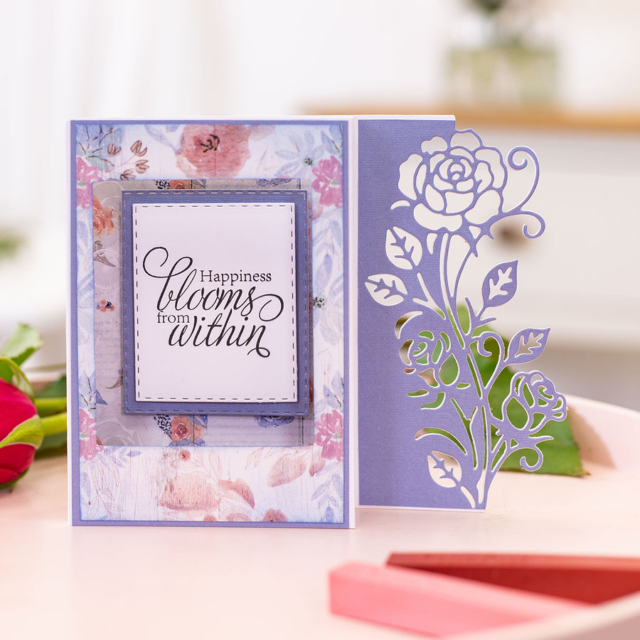 Sara Signature Collection - Rose Garden - Metal Die - Climbing Rose