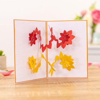 Gemini Die by Crafters Companion - Elements - Spiral Pop-Out Flower