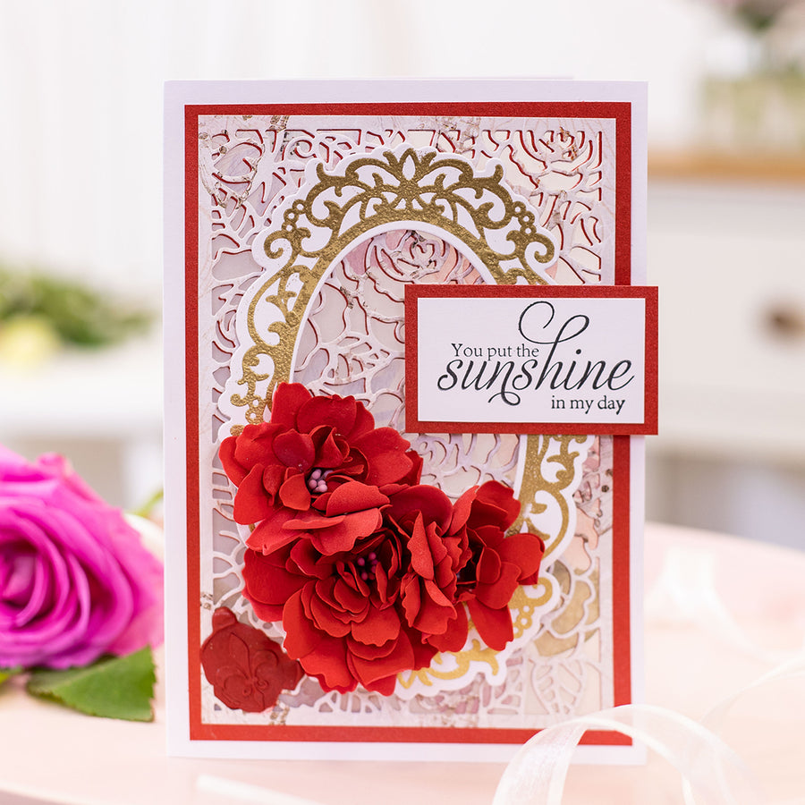 Sara Signature Collection - Rose Garden - Metal Die - Rambling Roses