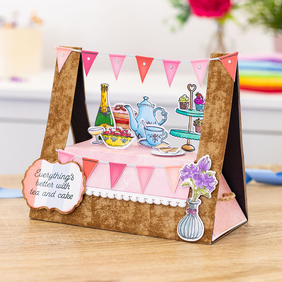 Gemini by Crafters Companion - Stamp & Die - Best Of British High Tea