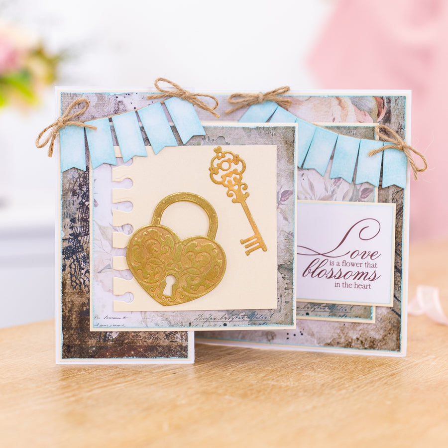Sara Signature Collection - Vintage Diary - Metal Die - Key to my Heart