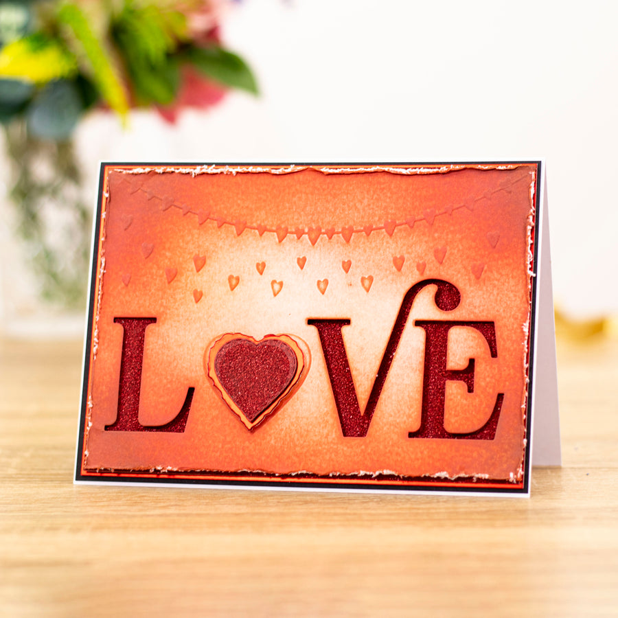 "Gemini by Crafters Companion -  Cut and Emboss Folder 5"" x 7"" - Classic Love"