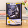 Gemini Die by Crafters Companion - Create A Card - Moon and Stars