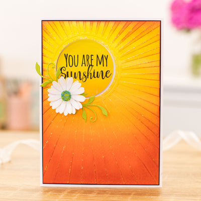 Crafters Companion Stamp - Love & Sunshine