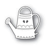 Poppystamps Die - Folk Watering Can - 2175