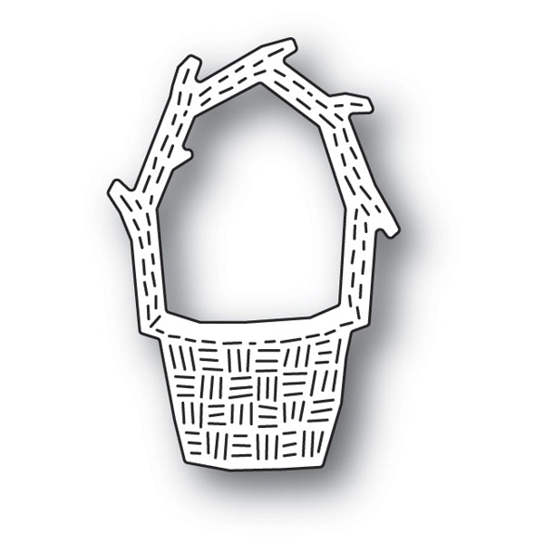 Poppystamps Die - Whittle Basket - 2184