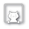 Poppystamps Die - Peek a Boo Kitty - 2200