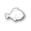 Poppystamps Die - Whittle Fish - 2209