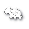 Poppystamps Die - Whittle Turtle - 2211