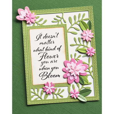 Poppystamps Stamps Set - Blooming Greetings - CL482
