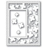 Poppystamps Die - Summer Blossoms Sidekick Frame and Stencil - 2222