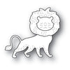 Poppystamps Die - Whittle Lion - 2225