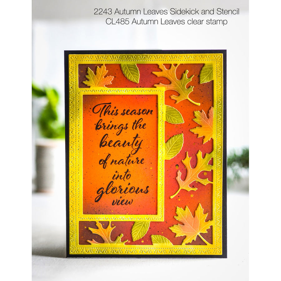 Poppystamps - Autumn Leaves Clear Stamp Set - CL485