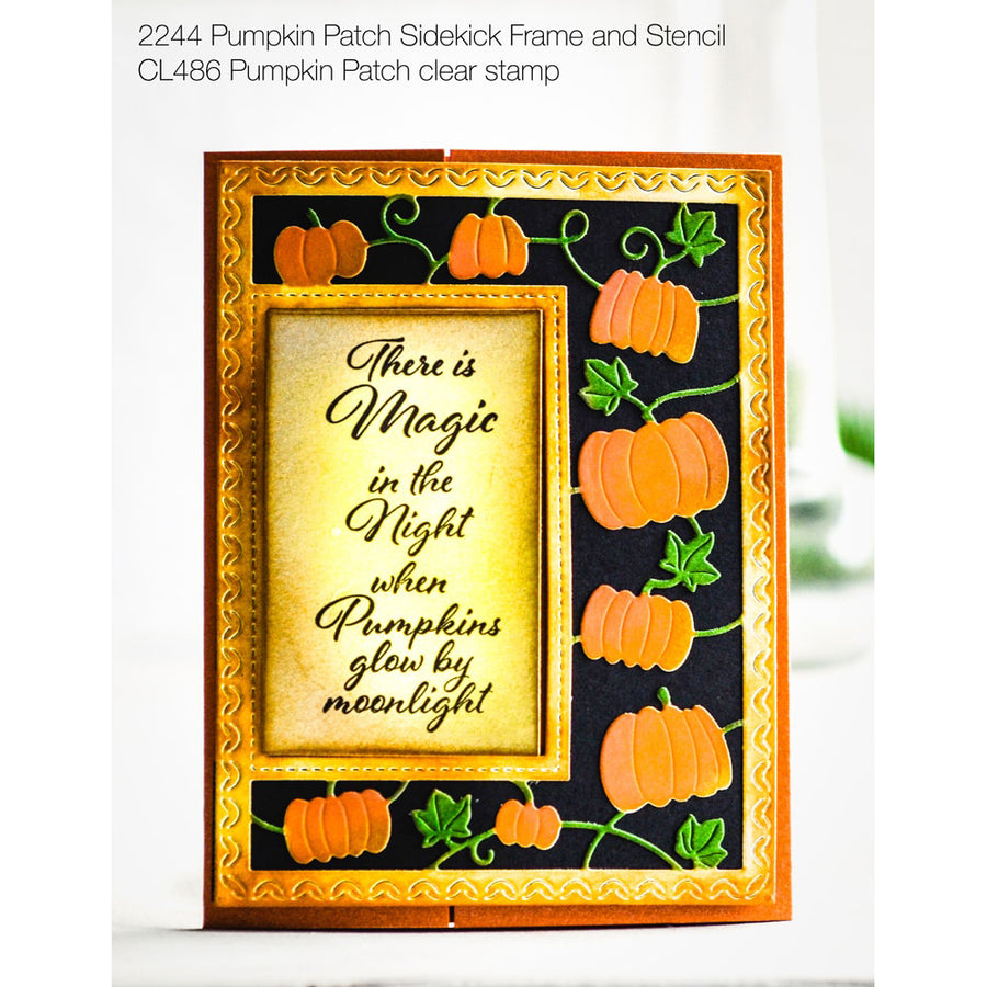 Poppystamps - Pumpkin Patch Clear Stamp Set - CL486