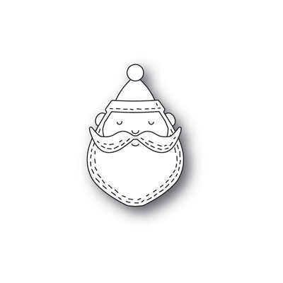 Poppystamps Die - Whittle Santa Face - 2279